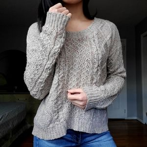 Arizona Jeans Cable Knit Sweater